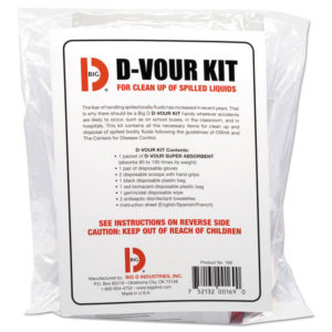Big D Industries D'vour Clean-up Kit