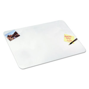 Artistic® Clear Desk Pad with Microban®