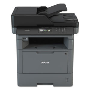Brother DCP-L5500DN Business Laser Multi-Function Copier with Duplex Printing and Networking