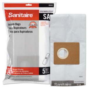 Sanitaire® Disposable Dust Bags With Allergen Filtration for Sanitaire® Commercial Canister Vacuums
