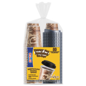 Dart® Bistro™ Hot/Cold Foam Cups With Lids
