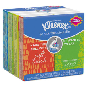 Kleenex® Go Pack Pocket Pack Facial Tissue