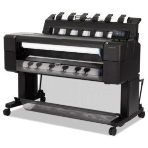 HP DesignJet T1530 36-in PostScript Printer with Encrypted Hard Disk