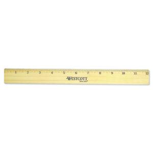 Westcott® Flat Wood Ruler