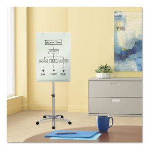 Quartet® Infinity™ Glass Mobile Presentation Easel