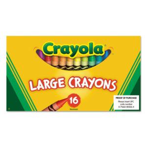 Crayola® Large Crayons