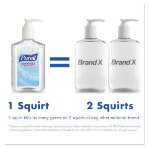 PURELL® Advanced Green Certified Instant Hand Sanitizer Gel
