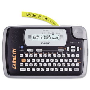 Casio® KL120 Label Maker