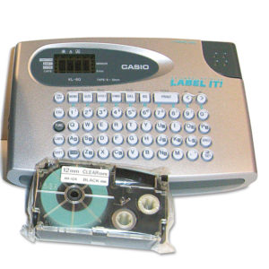 Casio® KL60SR Label Maker