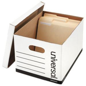 Universal® Basic-Duty Economy Record Storage Boxes