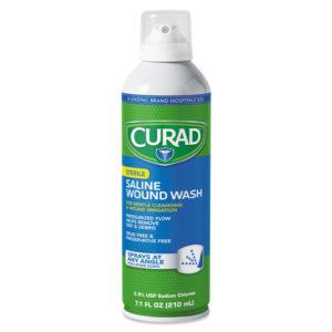 Curad® Sterile Saline Wound Wash