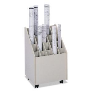 Safco® Laminate Mobile Roll Files