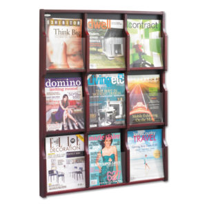 Safco® Expose™ Adjustable Magazine/Pamphlet Literature Display