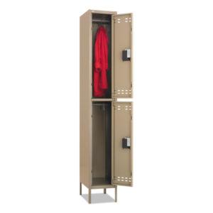 Safco® Double-Tier Lockers