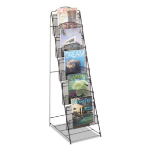 Safco® Onyx™ Magazine Floor Rack