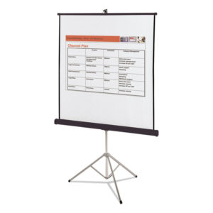 Quartet® Portable Tripod Projection Screen