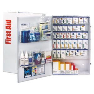 First Aid Only™ ANSI SmartCompliance Food Service First Aid Station with Medications
