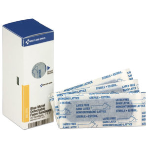 First Aid Only™ Metal Detectable Foam Adhesive Bandages