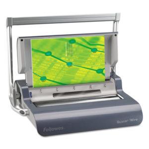 Fellowes® Quasar™ Manual Wire Binding Machine