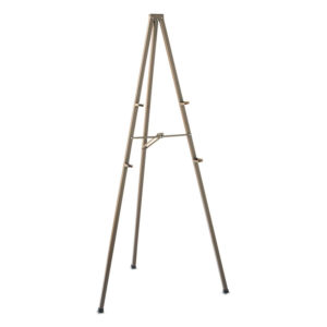 Quartet® Bronze Finish Tripod Easel