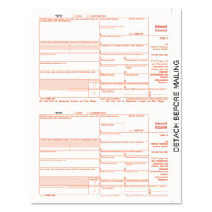 TOPS™ 1099 Tax Form