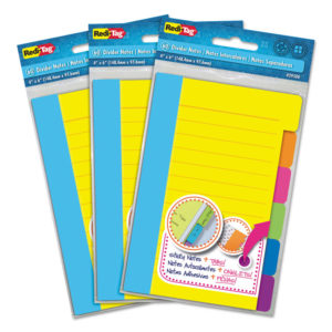 Redi-Tag® Divider Sticky Notes