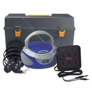 AmpliVox® Personal Six-Station Listening Center