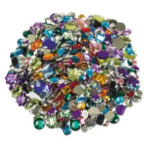 Chenille Kraft® Acrylic Gemstones Classroom Pack