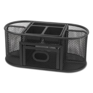 Universal® Metal Mesh Oval Desktop Organizer