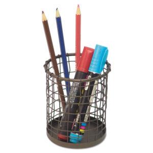 Universal® Vintage Wire Mesh Pencil Cup