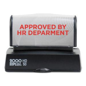 COSCO 2000PLUS® HD Custom Stamps