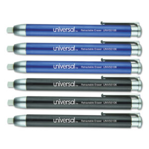 Universal® Pen-Style Retractable Eraser