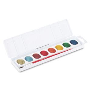 Prang® Metallic Washable Watercolors