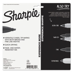 Sharpie® Chisel Tip Permanent Marker