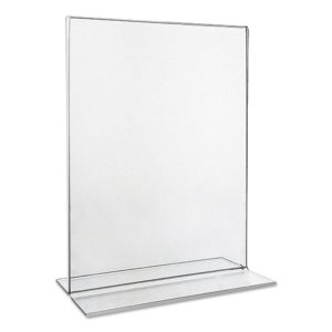 Universal® Clear 2-Sided T-Style Freestanding Frame