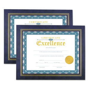 Universal® Leatherette Document Frame