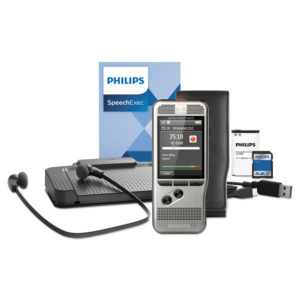 Philips® Pocket Memo Dictation/Transcription Kit