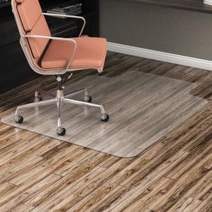 Alera® Non-Studded Chair Mat for Hard Floor