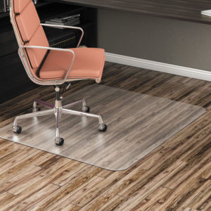 Alera® Non-Studded Chair Mat for Hard Floor