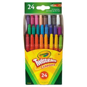 Crayola® Twistables® Mini Crayons