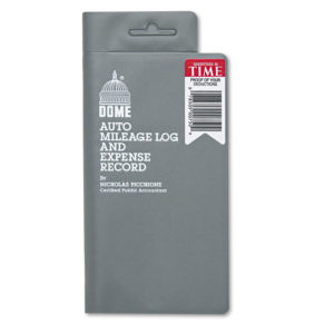Dome® Auto Mileage Log and Expense Record