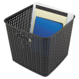 Advantus Extra Large Weave Bin