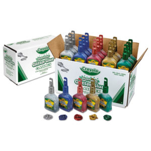 Crayola® Glitter Glue Classpack