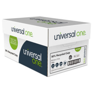 Universal® 50% Recycled Copy Paper