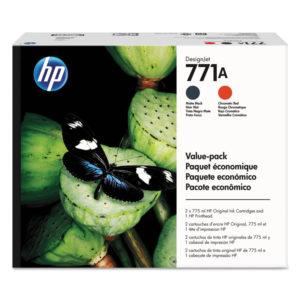 HP 771A Printhead Original Ink Cartridge Value Pack