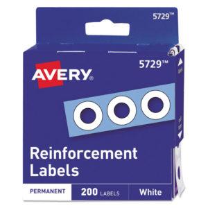 Avery® Binder Hole Reinforcements in Dispenser