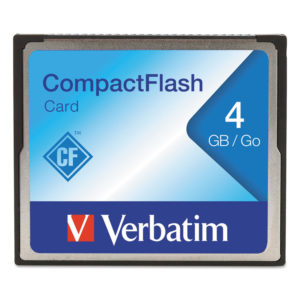 Verbatim® CompactFlash Cards