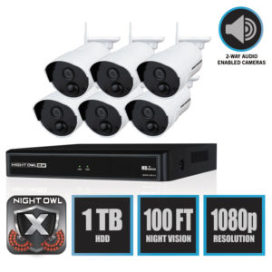 Night Owl 8 Channel 1080p Wireless Smart Security Hub