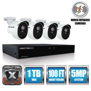 Night Owl 4 Channel Extreme HD Video Security DVR