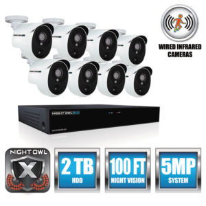 Night Owl 8 Channel 5 MP Extreme HD Video Security DVR